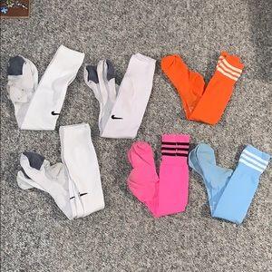 Adidas and Nike Soccer Sock Bundle